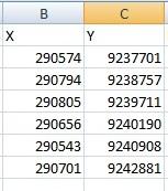 Tutorial Menampilkan Data Koordinat X Y dan Desimal Degree
