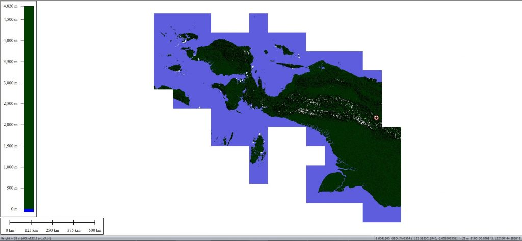 DOWNLOAD SRTM 30 METER PAPUA